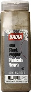 Badia Black Pepper Ground Fine, 16 Ounce (Pack of 6)