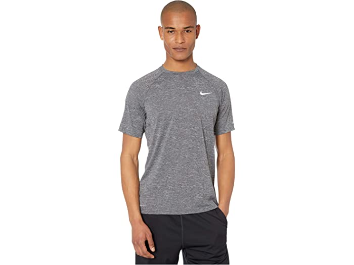 igual Plausible Sinis  Nike Heather Short Sleeve Hydroguard | Zappos.com
