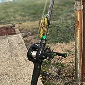 perfeclan Spinning//Casting Rod Hard EVA Ca/ña De Pescar Mango Grip Reel Seat Asiento de Carrete Giratorio