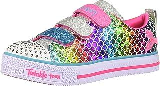 Skechers Unisex-Child Girls 20162L Twinkle Lite-Sparkle Scales