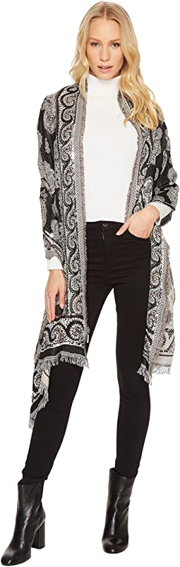 Echo Design - Embellished Paisley Wrap