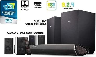 Nakamichi Shockwafe Ultra 9.2.4Ch 1000W Soundbar System with Dolby Atmos, Dolby Vision, Dual 10