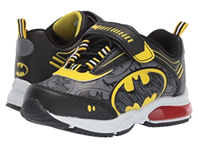 Favorite Characters Batmantm Lighted BMS370 (Toddler/Little Kid) (Black) Boys Shoes