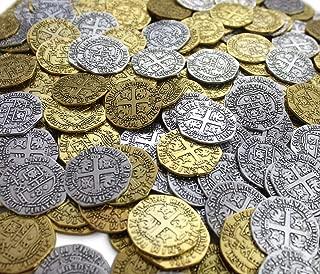 silver skull coin