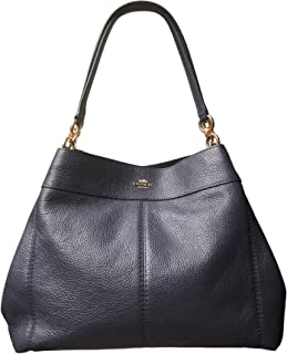 Coach Pebbled Leather Lexy Shoulder Bag Handbag