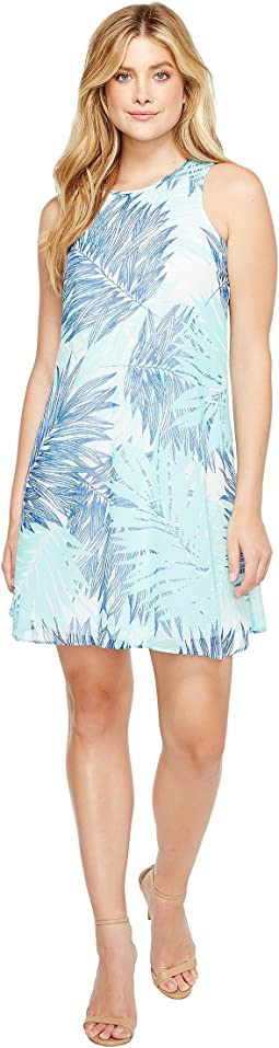 Calvin Klein - Printed Trapeze Dress
