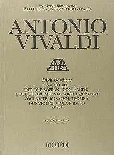 Dixit Dominus Salmo 109 Rv 807