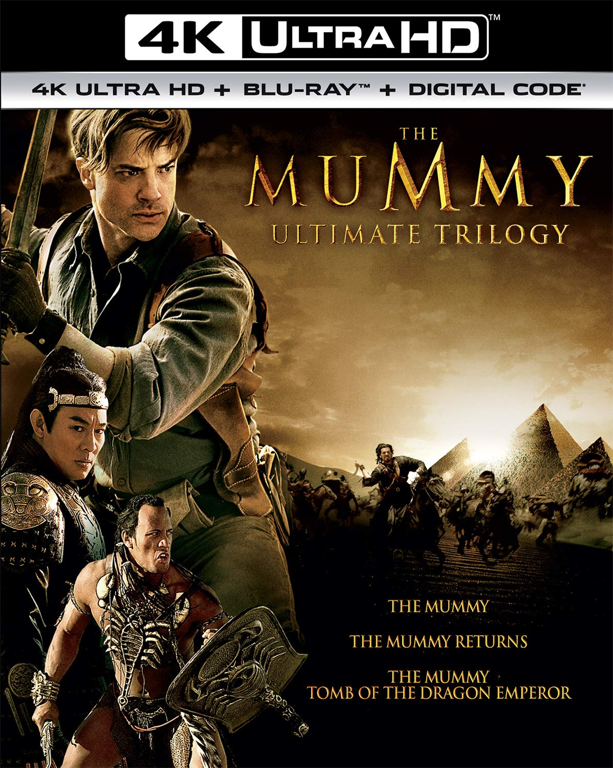 The Max 63% OFF Mummy Ultimate Max 63% OFF Trilogy Blu-ray