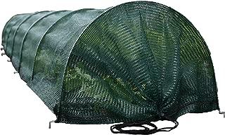 Tierra Garden 50-5070 Haxnicks Easy Shade Net Tunnel Garden Cloche, Standard