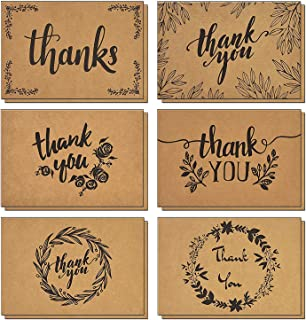 thank you card back