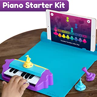 Shifu Plugo Tunes - Piano Learning Kit (App Based) Musical STEAM Toy for Ages 5-10 - Educational Music Instruments Gift for Boys & Girls (App Based)