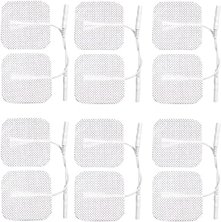 12 x Tens Electrodes pads,Electrode replacements (3 PACKS OF