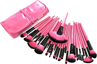 Urban Beauty 30 Piece Makeup brush Set With Storage Pouch (Pink)