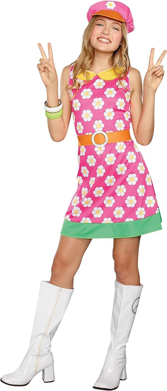 60s 70s Kids Costumes & Clothing Girls & Boys SugarSugar Girls/Tween Girly A-Go-Go Costume  AT vintagedancer.com