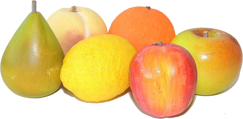 Italian Alabaster Fruit San Antonio Mall Year-end annual account - of 6 Set