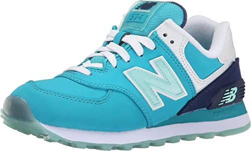 New Balance NBWL574SLY.B.6, Hausschuhe para Hombre, Nubuck Teal Blau, 37 EU