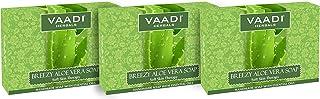 Vaadi Herbals Organic Body Soap Bar Aloe Vera Soap Complete Skin Care Handmade Herbal Soap (aromatherapy) With 100% Pure E...