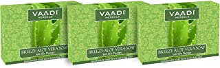 Vaadi Herbals Breezy Aloe Vera Soap, 75g (Pack of 3)