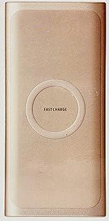 Samsung Original trådlös bärbar 10 000 mAh snabbladdning dubbla portar batteripaket, rosa