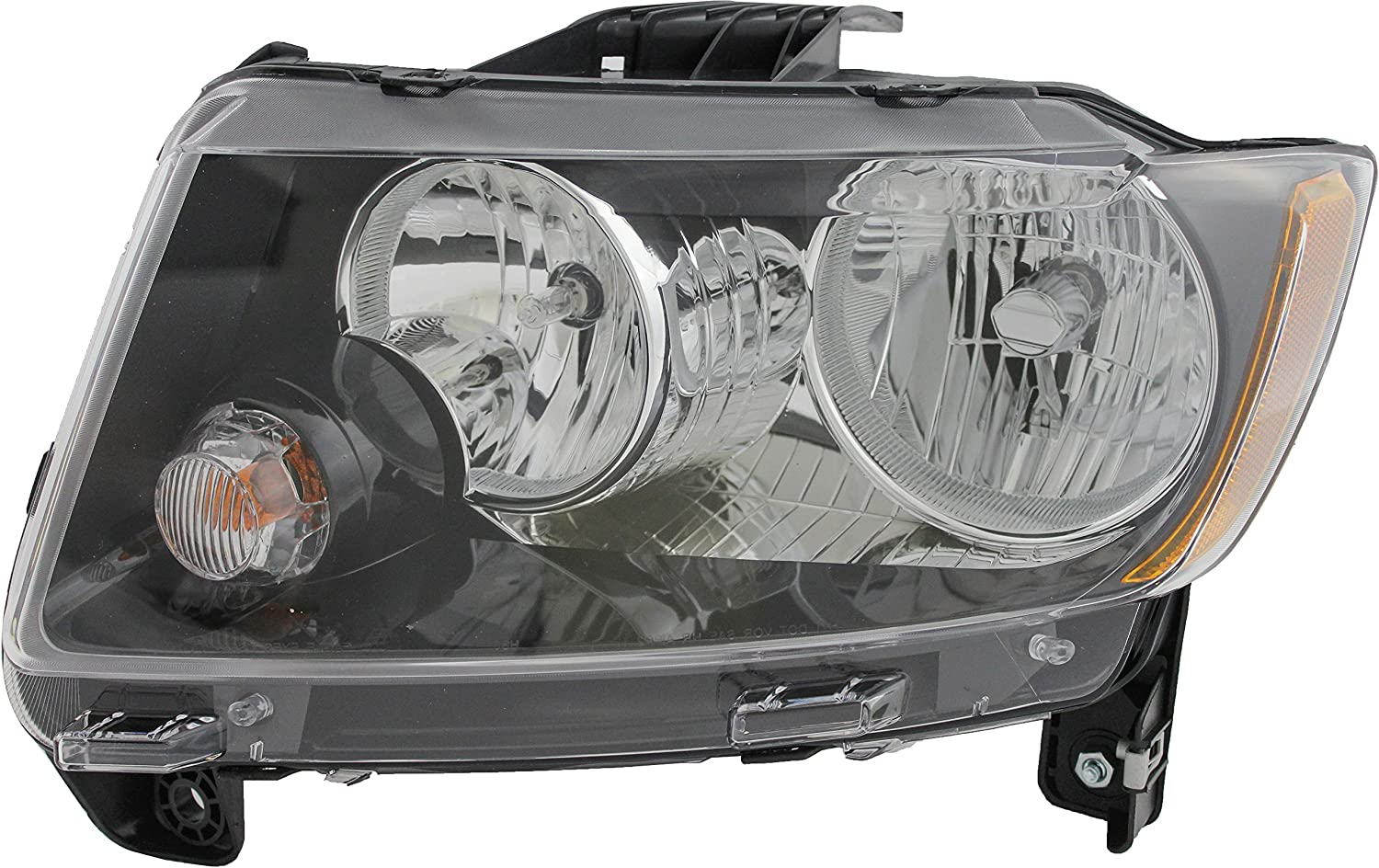 JP Auto Headlight Compatible With 2014 2015 40%OFFの激安セール ストア Jeep Compass Driver