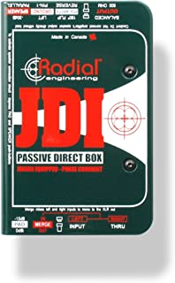 Radial Engineering R8001010JDI Single-Channel Passive Direct Box with Jensen Transformer