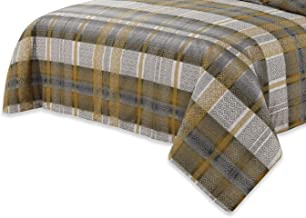 Home Comfort Tartan Luxurious Premium Quality 3 Piece Flat Bed Seet Set King