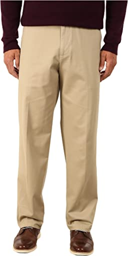 Comfort Khaki Stretch Relaxed Fit Flat Front