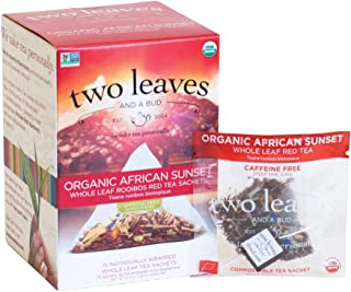 Two Leaves and a Bud African Sunset Tea, 15 Sachets