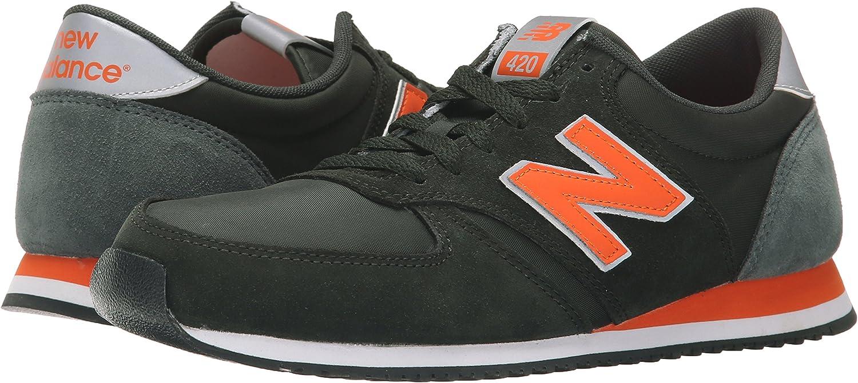 New Balance U420, Chaussures Mixte, Noir/Orange, 36 EU : Amazon.fr ...