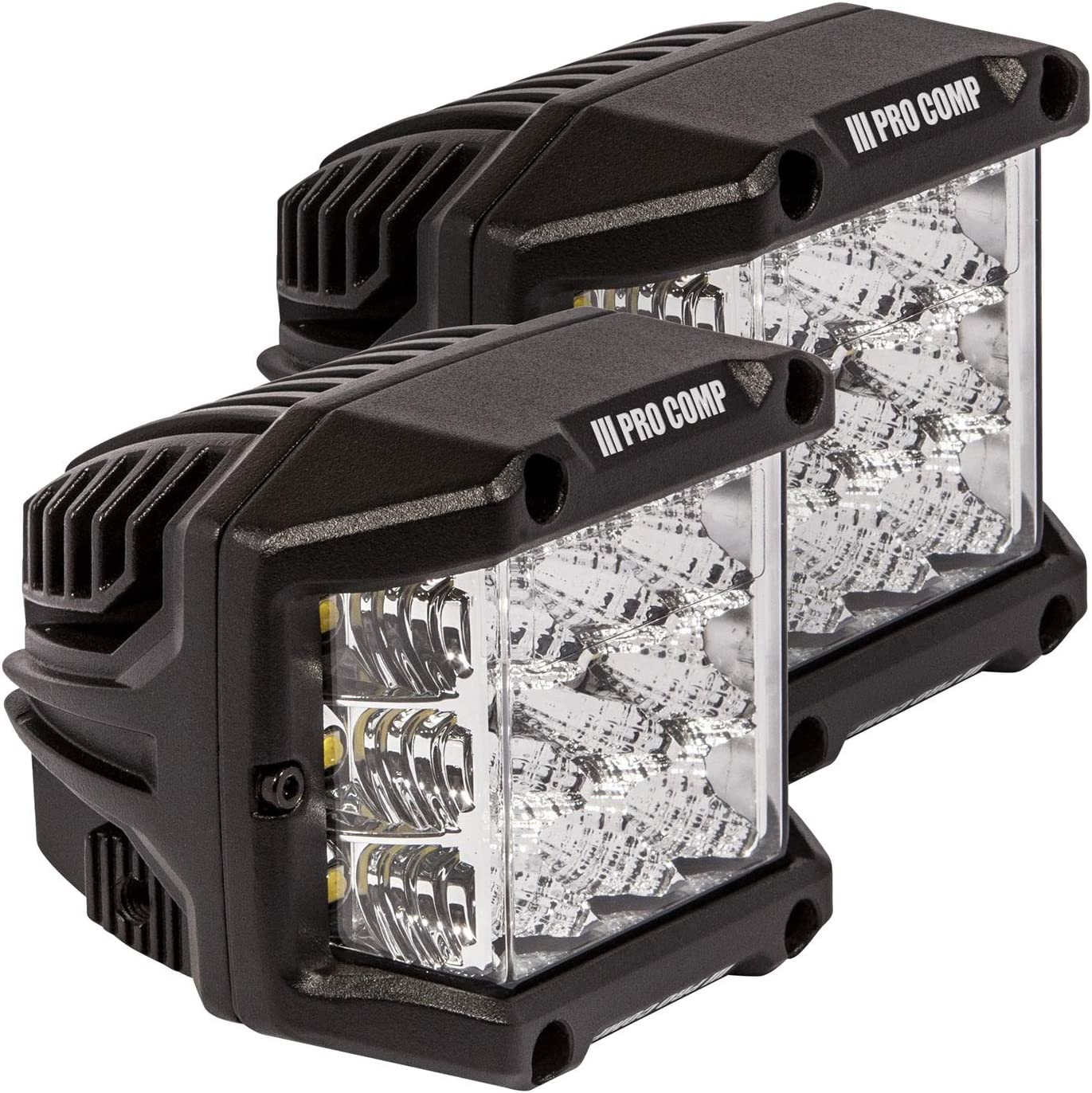 Pro Limited time trial price Miami Mall Comp Suspension 76411P Wide Cube Light Angle LED
