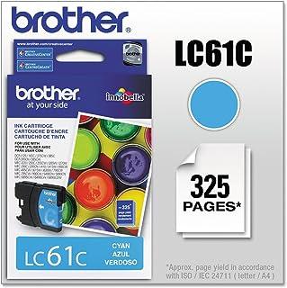 Brother LC61C Innobella Ink Cartridge, Cyan - in Retail Packaging