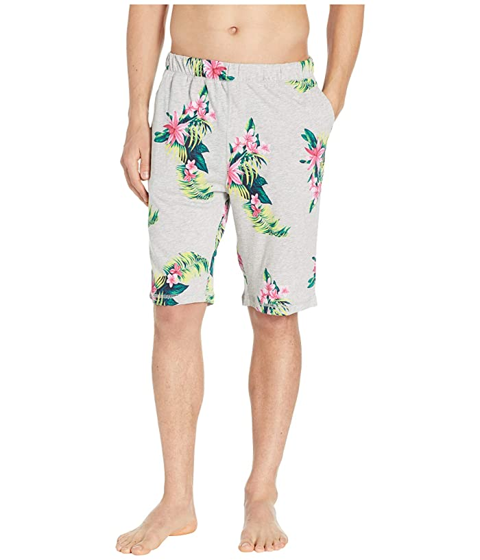 Tommy Bahama  Cotton Modal Floral Shorts (Large Floral) Mens Pajama