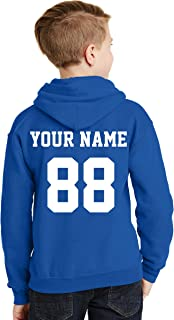 Custom Hoodies for Youth - Desing Your OWN 2 Sided Jersey - Pullover Hooded Team Sweaters