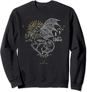 Harry Potter Thestral Line Art Sweatshirt