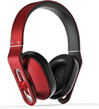 1MORE Over-Ear Headphones Bass Driven, Comfortable Earphones with Lightweight Durable Supercar Design, Noise Isolation, Microphone and Volume Control for iPhone/Android/PC/Tablet - MK801 Red