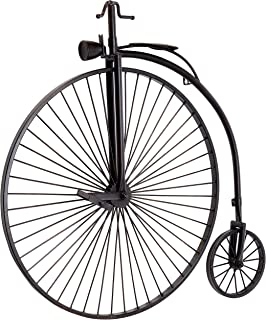 TIC Collection Caprotti Penny Farthing Cycle Décor, Brown