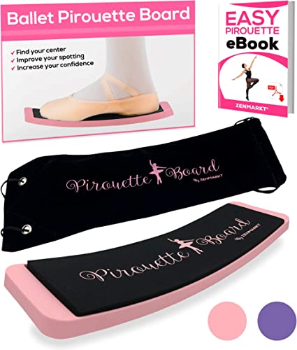 Zenmarkt Ballet Turning Board for Dancers - Figure Skating Ballet Dance Turning Pirouette Board Training Equipment fo...