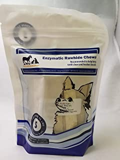 Piccardmeds4pets Enzymatic Rawhide Chews by Sogeval (Sm Under 11 lbs 30 ct)