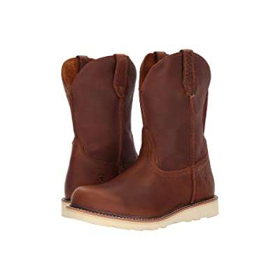 Ariat Rambler Recon Round Toe (Golden Grizzly) Cowboy Boots