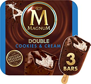 Magnum Ice Cream, Double Cookies and Cream, 3 ct