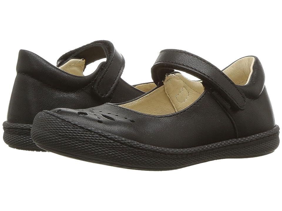 Primigi Kids PTF 24323 (Toddler/Little Kid) (Black Leather) Girl
