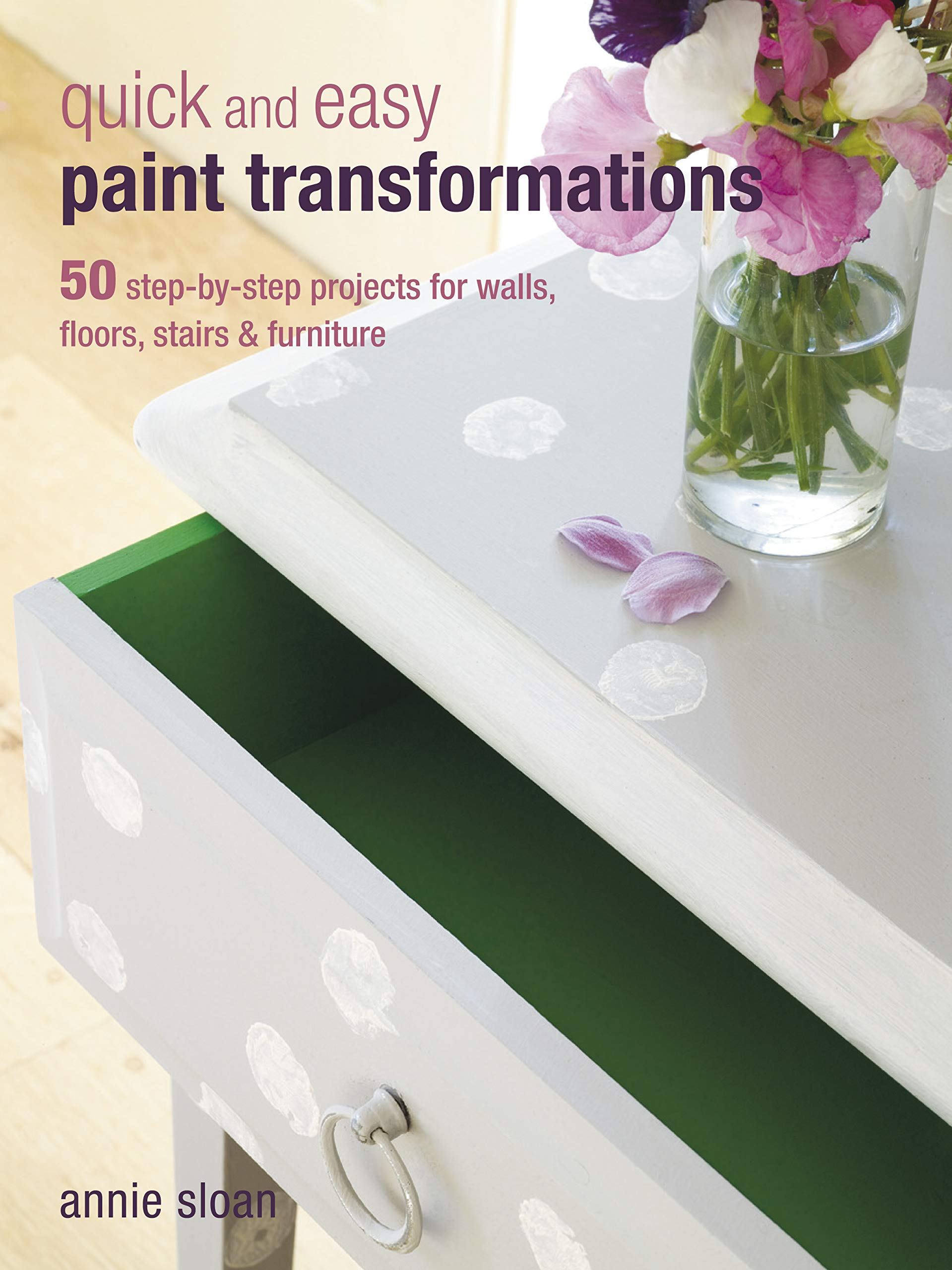 Image OfQuick And Easy Paint Transformations: 50 Step-by-step Ways To Makeover Your Home For Next To Nothing: 50 Step-By-Step Proj...