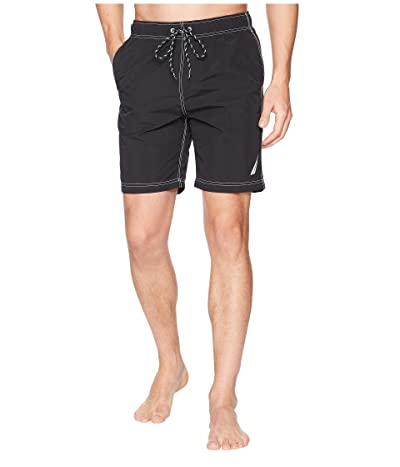 Nautica New Anchor Swim Trunk (True Black) Men