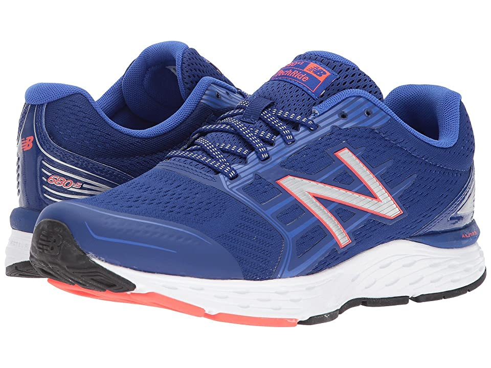 New Balance 680v5 (Deep Pacific/Pacific/Flame) Men