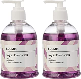 Amazon Brand - Solimo Handwash Liquid, Lavender - 250 ml (Pack of 2)