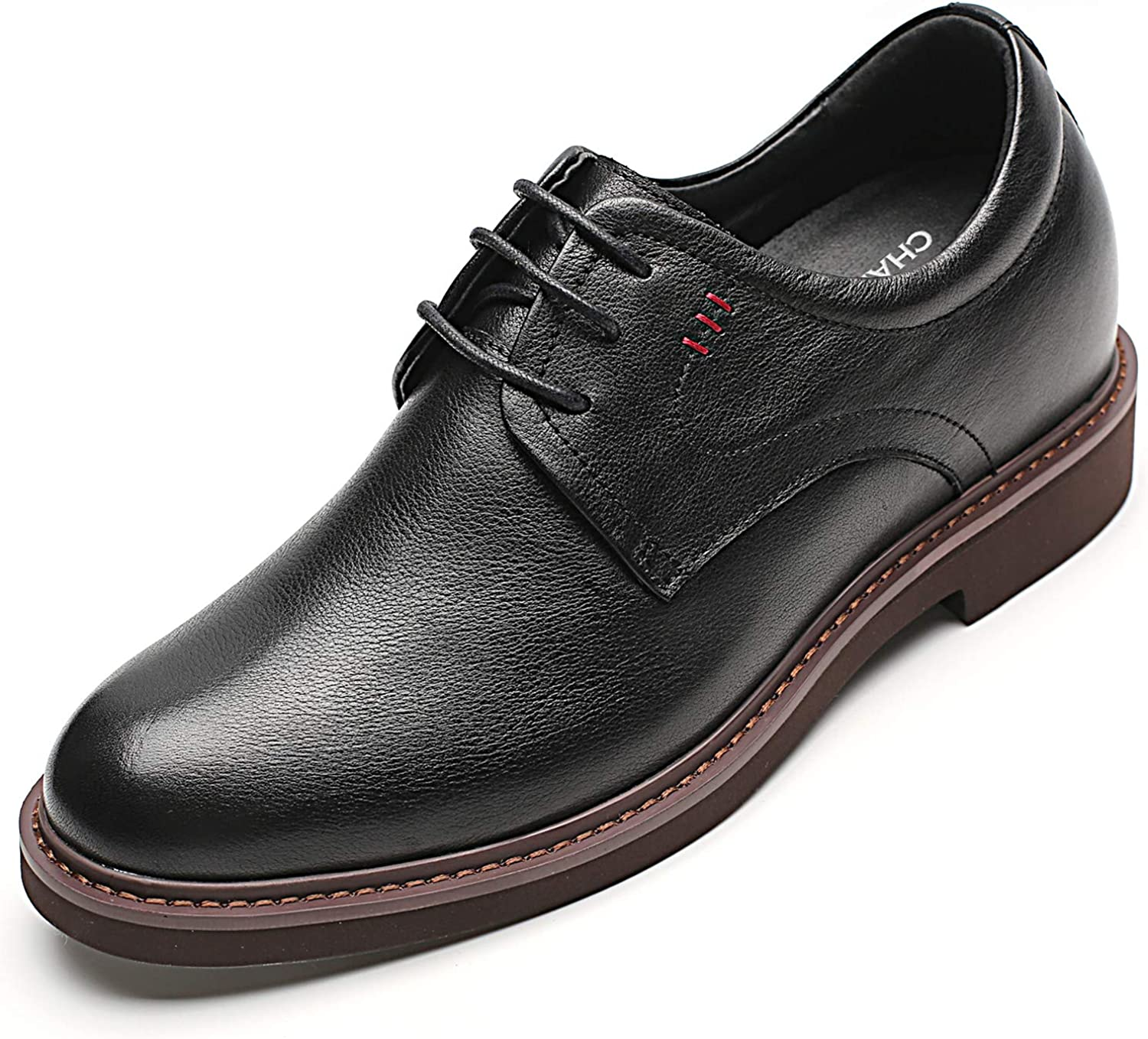 CHAMARIPA Men クリアランスsale!期間限定! Height Increasing Elevator 評判 Talle Shoes 2.76 Inches