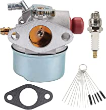 Wellsking 640017 Carburetor Carb for Tecumseh 640135A 640004 640014 640025 640117 640104 OH195XA OH195EA OHH50 OHH55 OHH60 OHH65 5.5HP Pressure Washer Snowblower