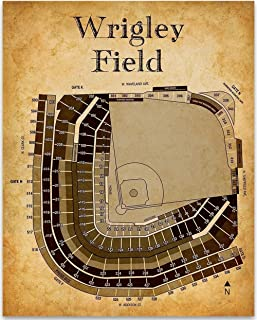 wrigley field blueprints