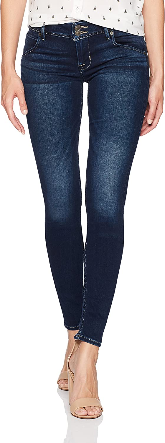 Hudson Jeans Womens Collin Midrise Skinny Supermodel Jeans