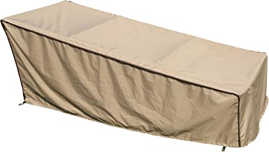 "SORARA Chaise Lounge Cover Weatherproof Outdoor Porch Patio Furniture Cover, Water Resistant, 84"" L x 34"" W x 34"" H"